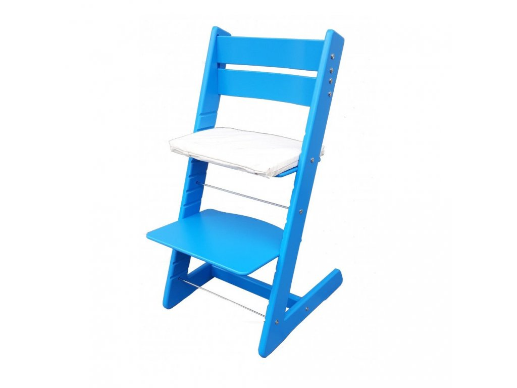Jitro rostoucí židle Klasik Světle modrá