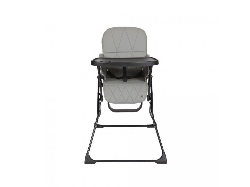 Topmark Lucky jídelní židle, tmavě - šedá