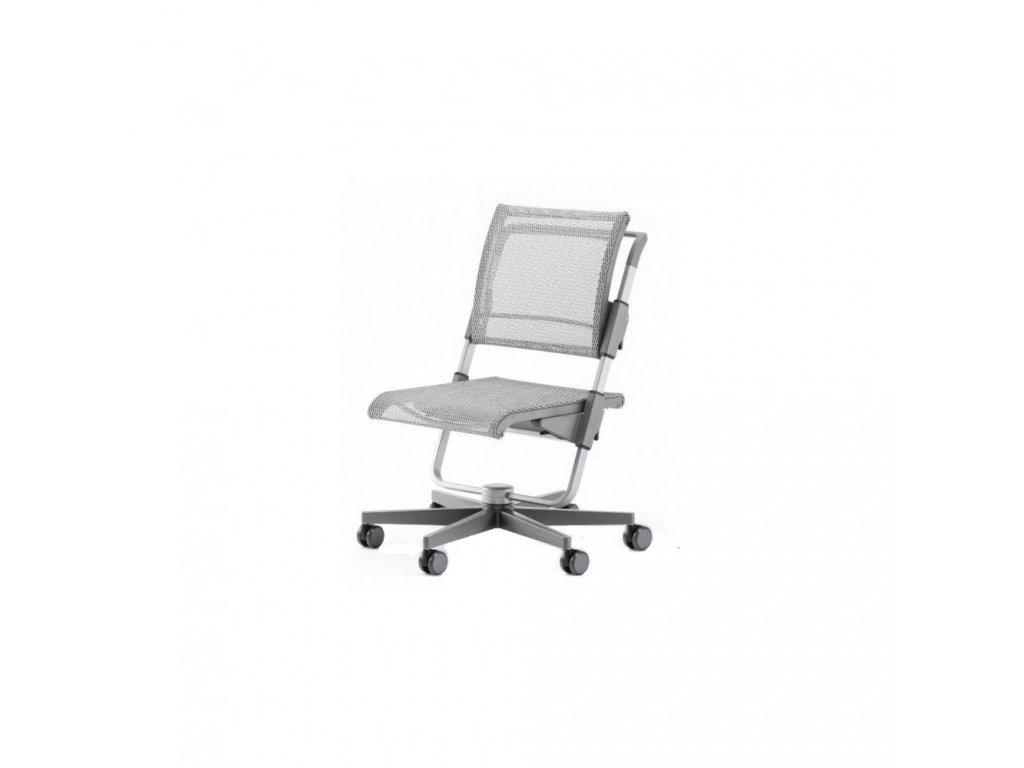 Moll rostoucí židle Scooter šedá