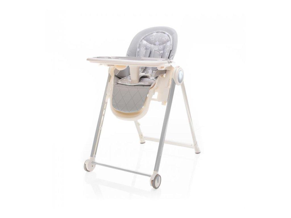 Zopa jídelní židlička Space Ice Grey