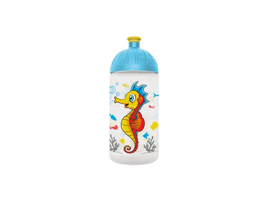 FreeWater lahev 0,5l Mořský koník transparentní