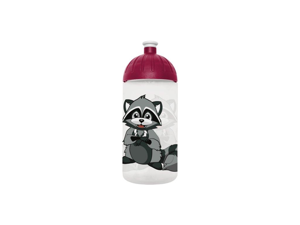 FreeWater lahev 0,5l Mýval transparentní
