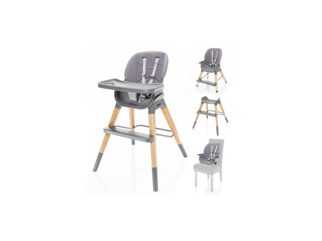 Dětská židlička Nuvio Dove Grey
