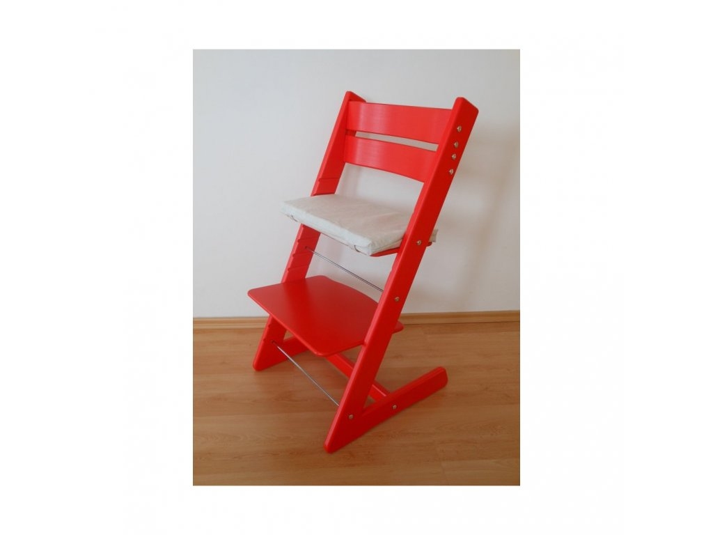 Jitro Klasik rostoucí židle Červená