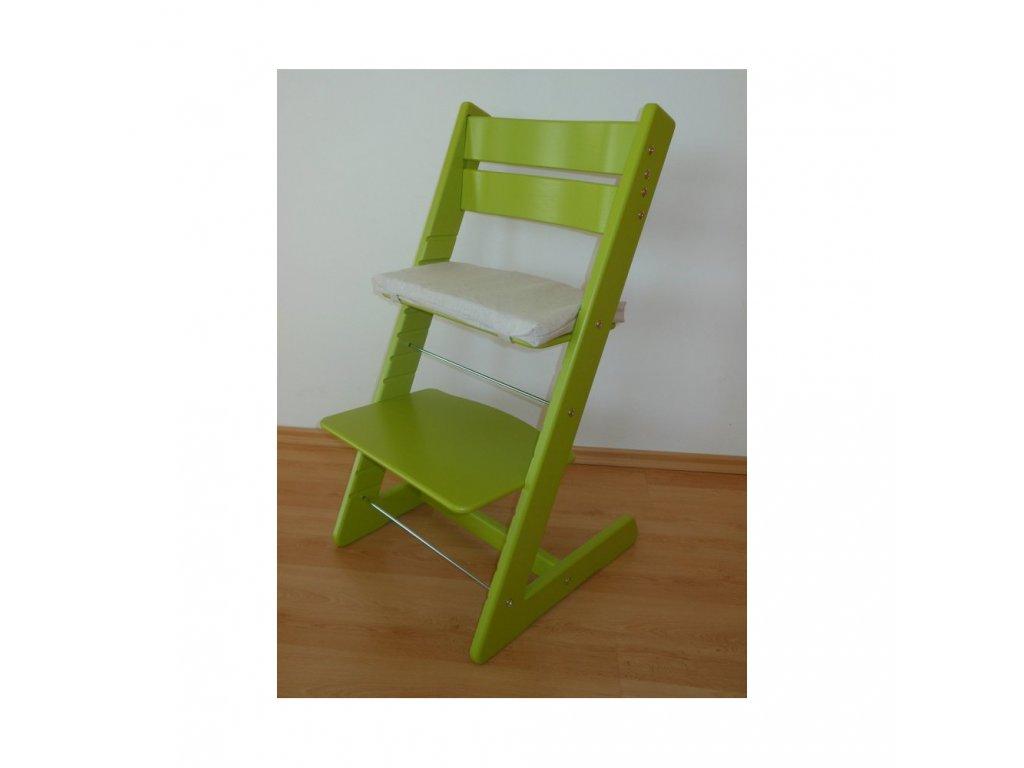 Jitro Klasik rostoucí židle Světlezelená