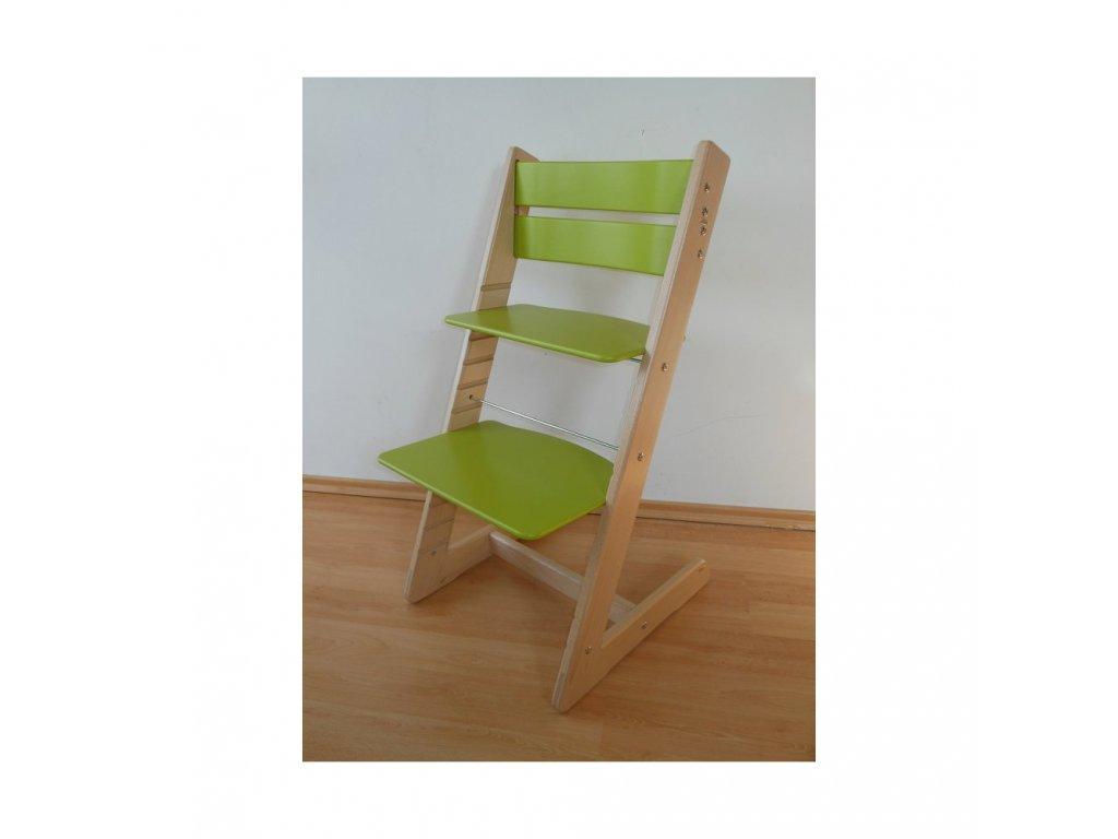 Jitro Klasik rostoucí židle Buk - světlezelená