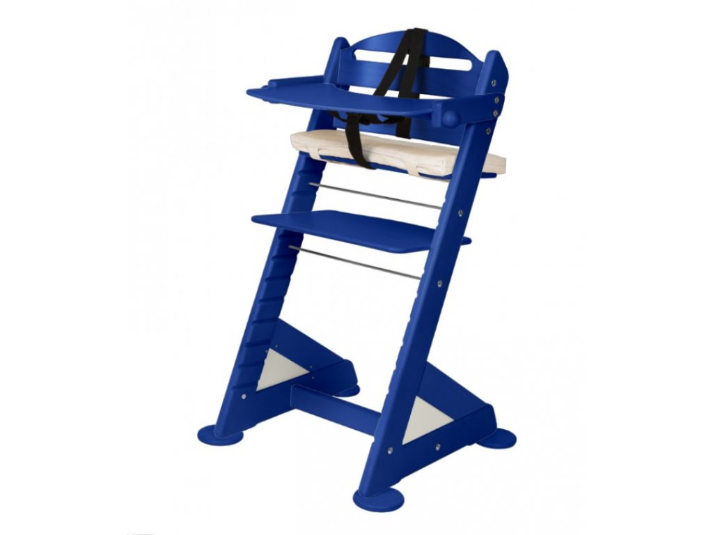 Komplet pultík + stabilizační botičky k židlím Jitro Baby modrý