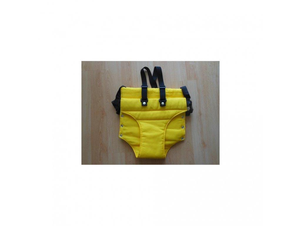 Jitro Vatelínové kalhotky  žluté