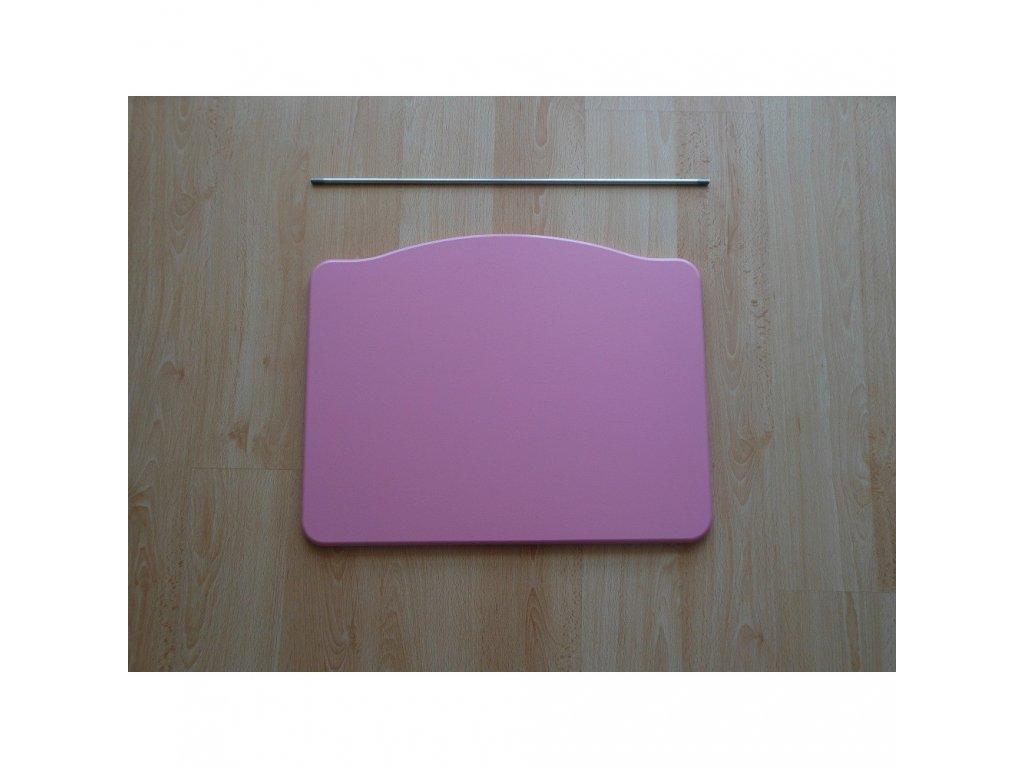 Jitro Stupínek k rostoucí židli  růžový