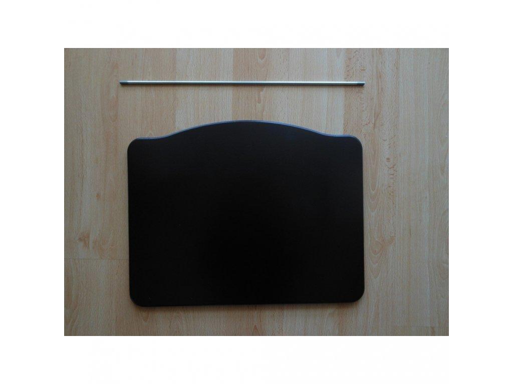 Jitro Stupínek k rostoucí židli  černá