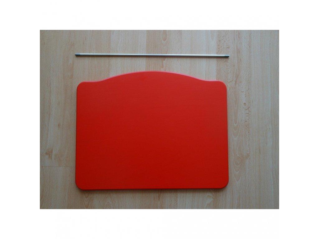 Jitro Stupínek k rostoucí židli  červený