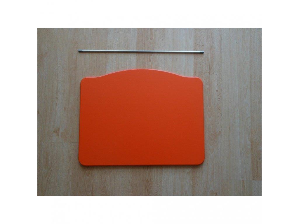 Jitro Stupínek k rostoucí židli  oranžový