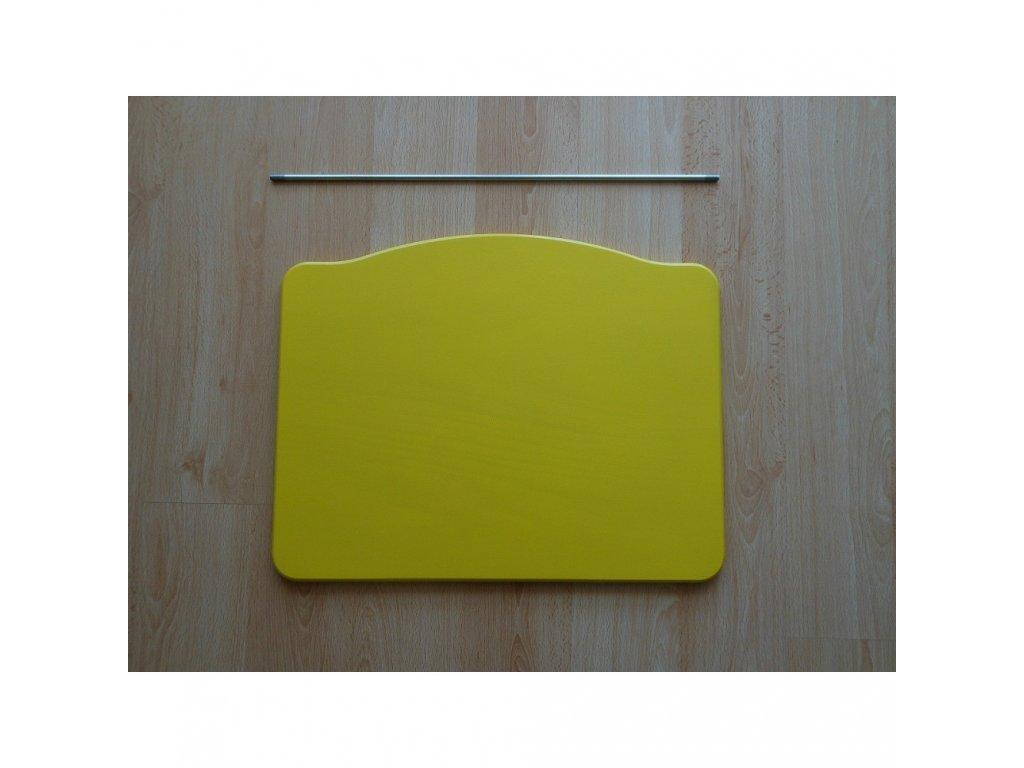Jitro Stupínek k rostoucí židli  žlutý