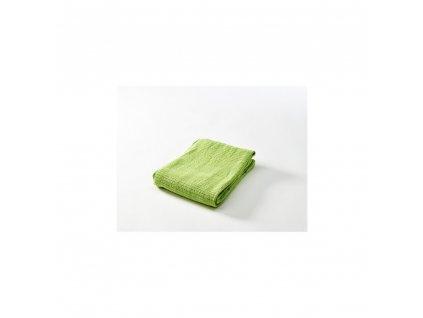 Háčkovaná deka  mátově zelená