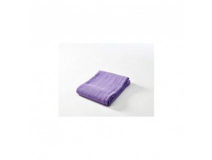 Háčkovaná deka New  fialová