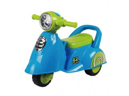 Baby Mix Dětské jezdítko se zvukem  Scooter modré