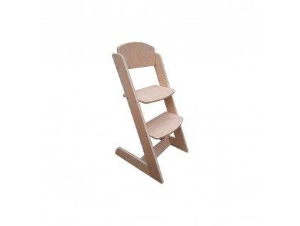 Rostoucí židle Nicol Buková bez laku
