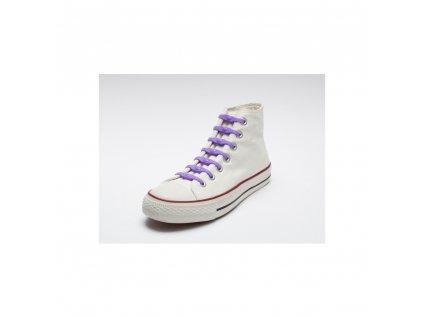Shoeps Silikonové tkaničky Purple