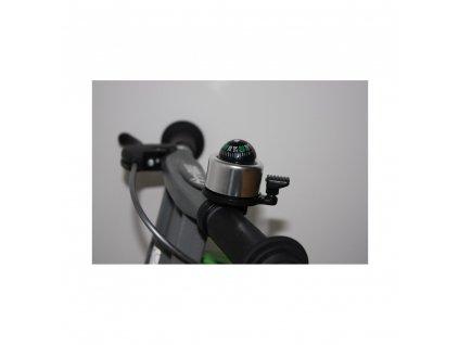 First Bike - zvonek kompas stříbrný