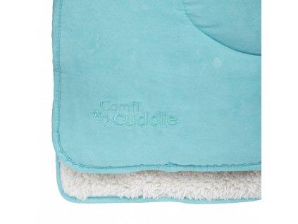 Cuddleco dětská oboustranná deka Tiffany Blue