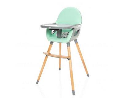 Zopa dětská židlička Dolce 2  Ice Green/Grey