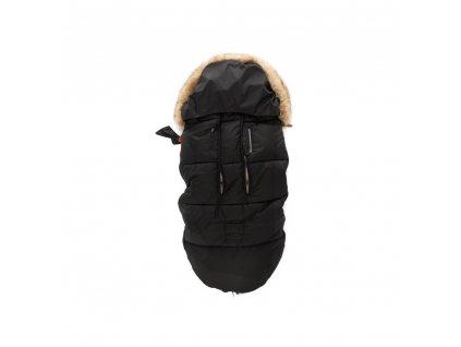 Zopa zimní fusak Fluffy Night Black - PŘEDPRODEJ