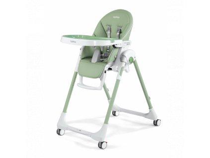 Peg Pérego jídelní židlička Prima Pappa Follow Me Mint 2021