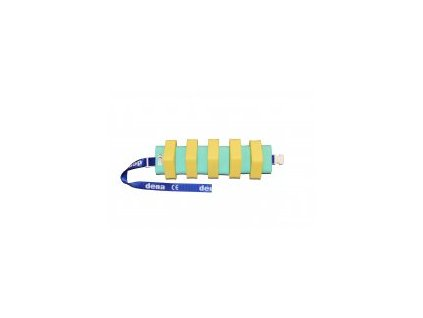 Matuška Dena Plavecký pás  1000 zeleno - žlutý