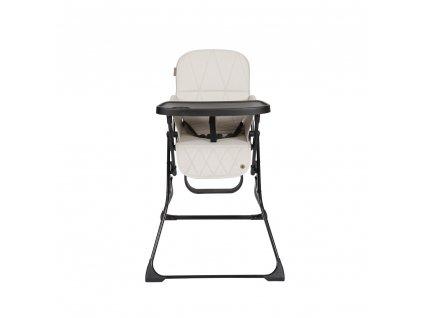 Topmark Lucky jídelní židlička, šedo - béžová
