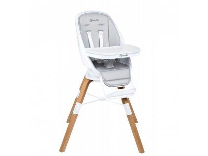 Jídelní židlička CAROU 360° White