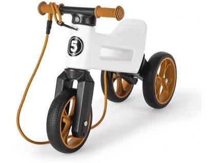 odrazedlo funny wheels rider supersport 2v1 bile krabice