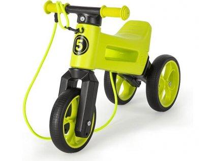 odrazedlo funny wheels rider supersport 2v1 zelene krabice