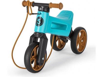 odrazedlo funny wheels rider supersport 2v1 tyrkys