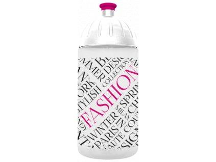 FreeWater lahev 0,5l Fashion transparentní