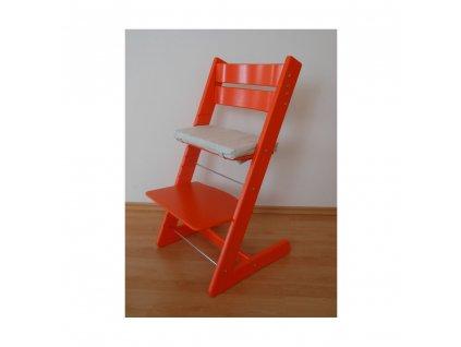 Jitro Klasik rostoucí židle Oranžová