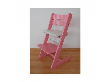 Jitro Klasik rostoucí židle Růžová