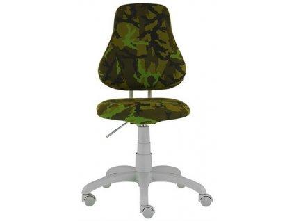 Dětská rostoucí židle Alba Fuxo Army
