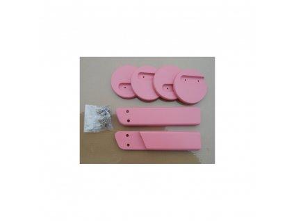 Jitro  područky k židlím Jitro Klasik růžová