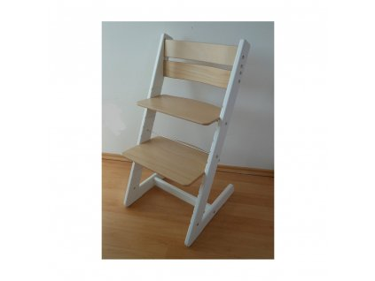 Jitro Klasik rostoucí židle Bílo - buková