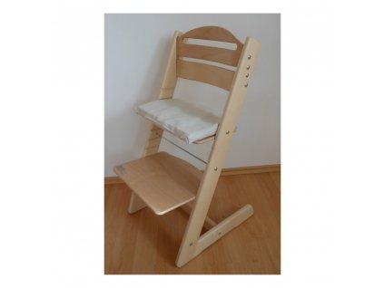 Rostoucí Židle Jitro Baby přírodní