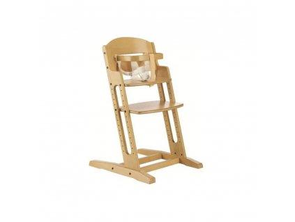 BabyDan jídelní židlička Dan Chair natur