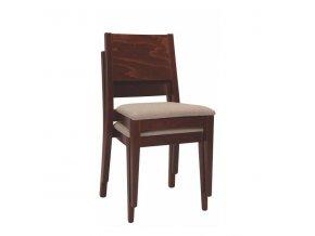 Stohovatelná židle ALEX/látka