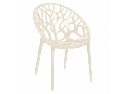 židle Coral ivory white
