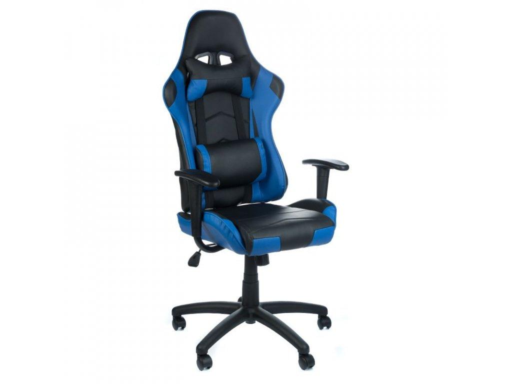 Herní židle FIGHTER - modrá