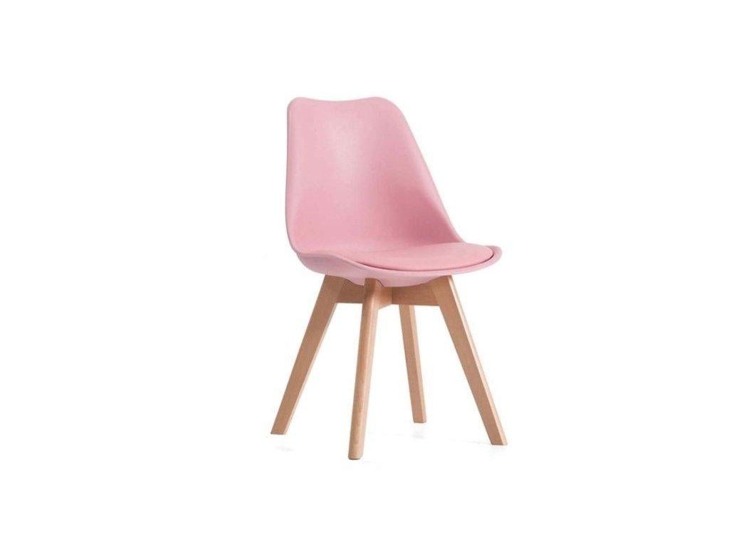 Jídelní židle PORTO - růžová
