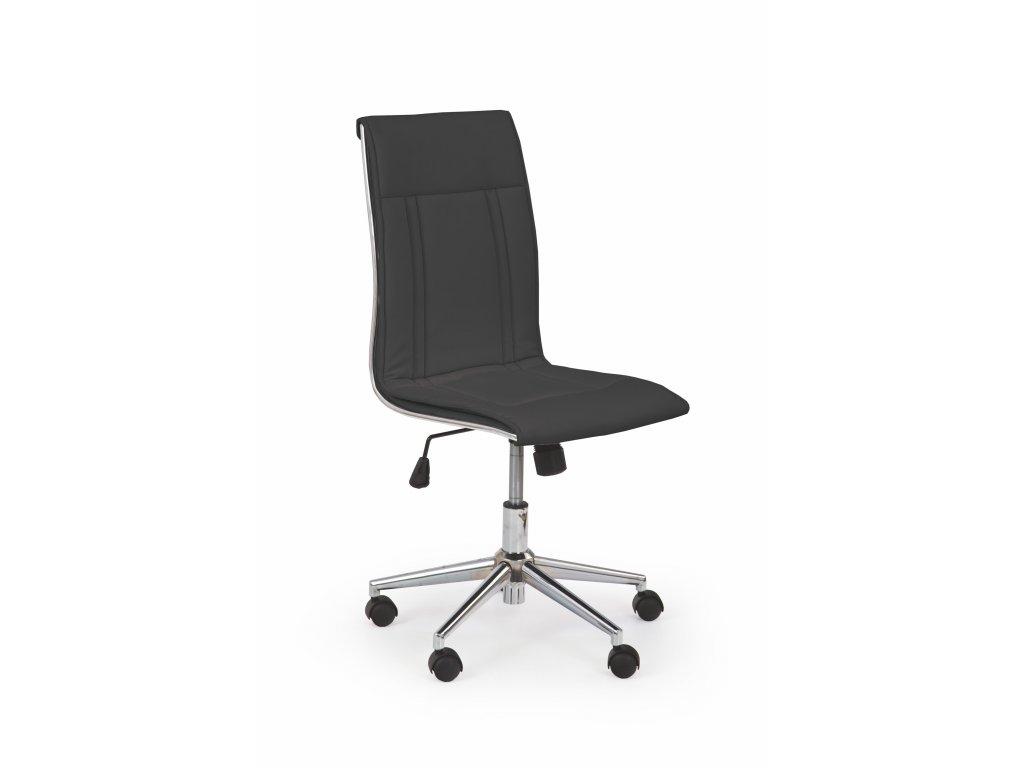 Kancelářská židle PORTO - černá