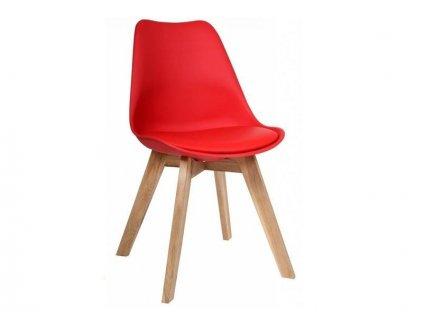 Jídelní židle PORTO - červená