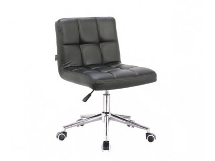 Židle SAVONA na kolečkové podstavě - černá