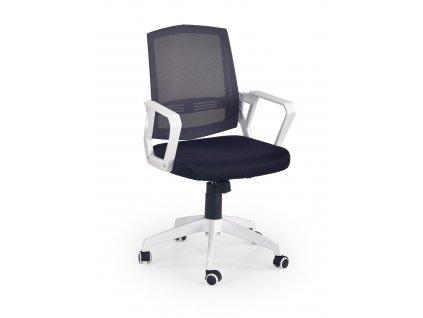 Kancelářská židle ASCOT - černo-bílá