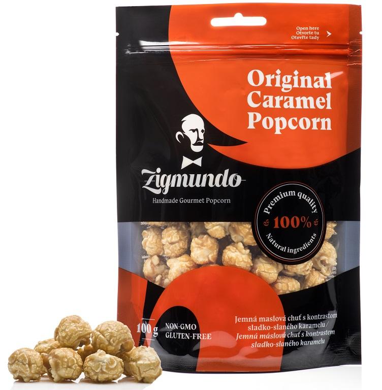 Sáčky s prémiovým popcornem